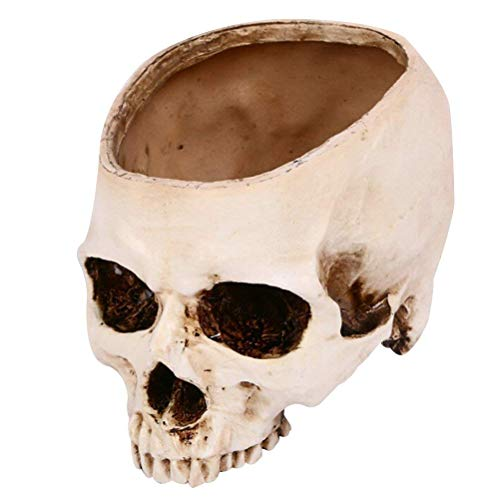 Suitable for Party Favors Halloween Skull Head Ashtray