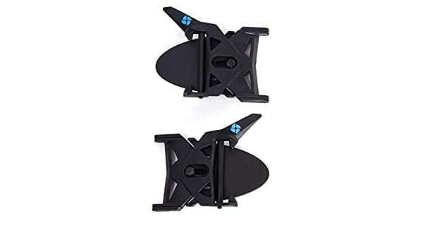 Black Airflaps Unisex Adult Fastening Accessory One Size