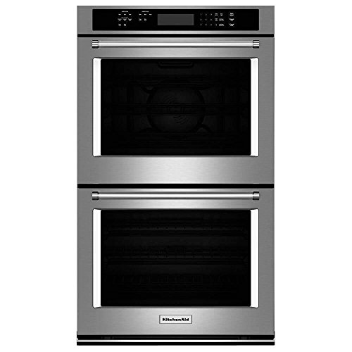 """KITCHENAID KODE300ESS 30"""" Double Electric Wall Oven with 10."""