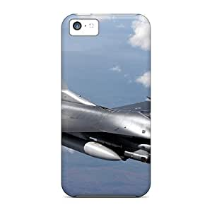 High Quality Charming YaYa F-16 Fighting Falcon Skin Case Cover Specially Designed For Iphone - 5c