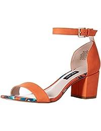 Women's frostbite Nubuck Heeled Sandal
