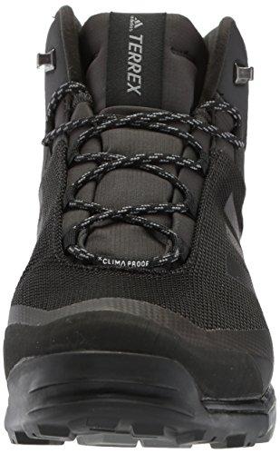 adidas Outdoor Herren Terrex Tivid Mid CP Laufschuh Schwarz / Schwarz / Grau Vier