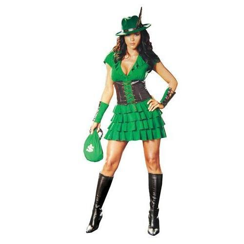 Robyn Da Hood Adult Costume - Small