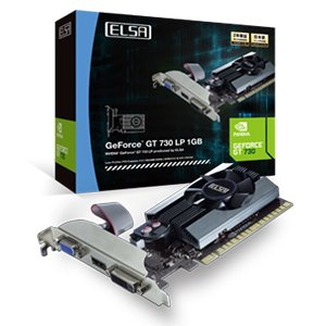Elsa Nvidia Geforce gd730 GB Graphics Board gd730 - 1gerl