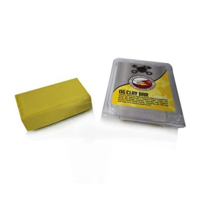 Chemical Guys CLY_400 OG Light Clay Bar, Yellow (100 g): Automotive