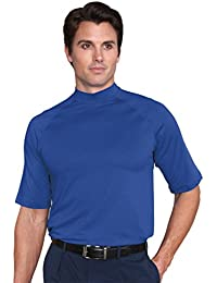 Mens Dry Swing Drizzle Texture Mock Shirt #1169