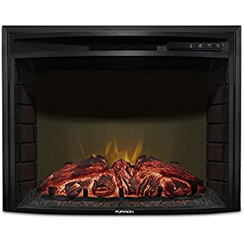 Amazon Com Furrion 26 Curved Glass Electric Fireplace