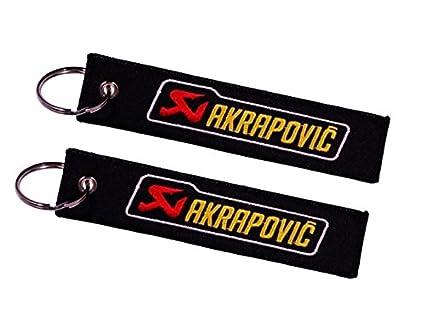 Amazon.com: Akrapovic Double Sided Key Ring (1 pc.): Automotive