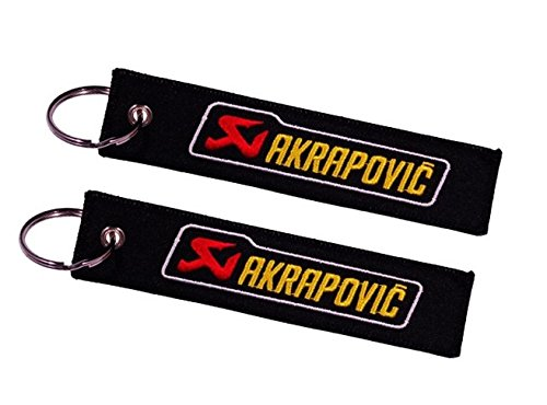 Amazon.com: Akrapovic Double Sided Key Ring (1 pc.): Automotive