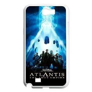 Samsung Galaxy Note 2 N7100 Phone Case White Atlantis The Lost Empire CXF350054