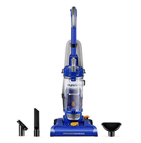 Eureka NEU182A PowerSpeed Lightweight Bagless Upright Vacuum Cleaner, Blue ()
