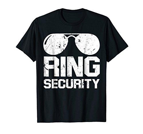 Ring Security Shirt Ring Bearer T-Shirt Boys Wedding -