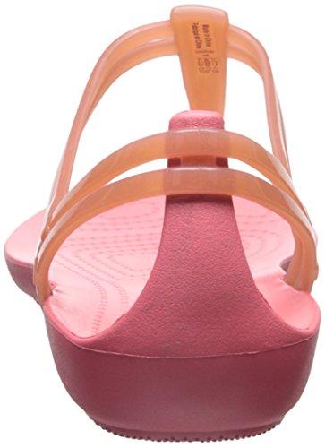 T Strap Crocs Corail Isabella Sandal qOxc61wS