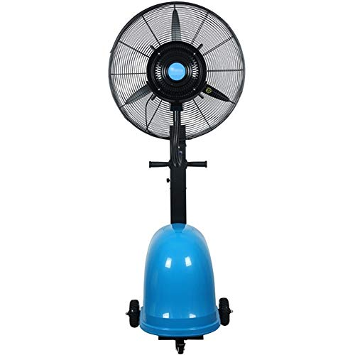 Hong Jie Yuan Shop Pedestal Fan Misting Oscillating Fan 49L Large Water Tank 72cm/ 82cm Inch Outdoor High Power Humidification and Cooling Industrial Spray Fan Left and Right Swing (Size : 30 Inch) ()