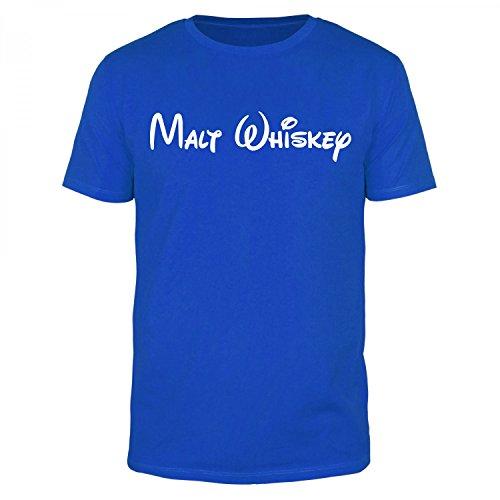 FABTEE - Malt Whiskey - Herren T-Shirt verschiedene Farben, Größen S-4XL, Größe:M;Farbe:Schwarz