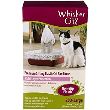 Amazon Com Kitty Cat Sifting Litter Box Liners 10 Per