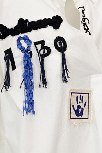 18wwbw17 Desigual Blus Donna College Blusa Bianco wBaBqIFrn