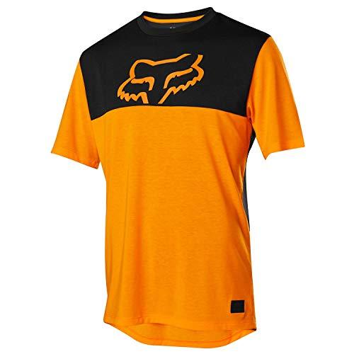 (Fox Racing Ranger Dri-Release Short-Sleeve Jersey - Men's Atomic Orange, XL)