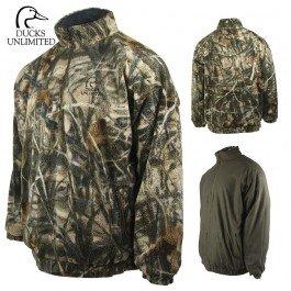 1/4 Reversible Jacket Zip (Ducks Unlimited Sherpa Fleece 1/4 Zip Jacket (XL)- RTMX-4)
