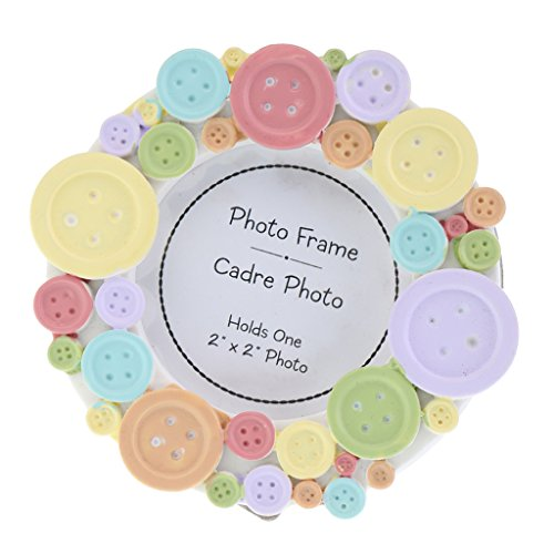 cute as a button picture frame - 2