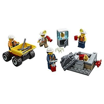 LEGO City Mining Team 60184 Building Kit (82 Piece): Toys & Games