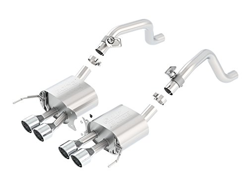 r Section Exhaust System (with AFM Valves, Round Intercooled Tips) ()