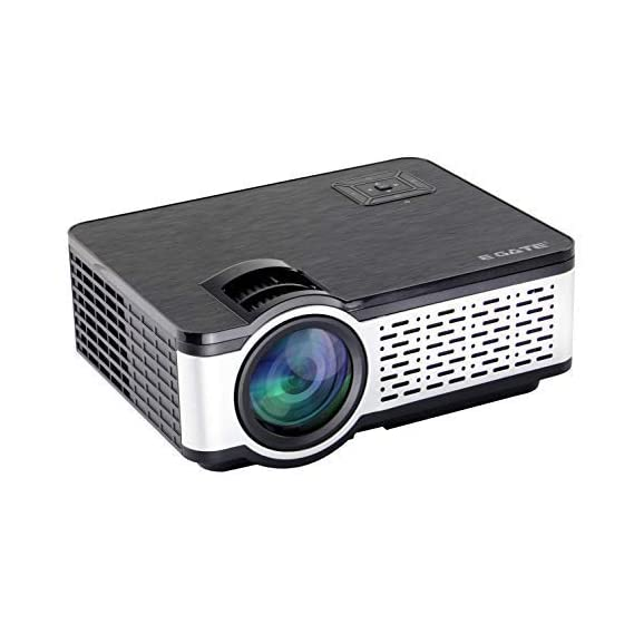 """Egate i9 HD Android 720p (1080p Support) 2400 L (225 ANSI ) with 150 """" Large Display LED Projector 