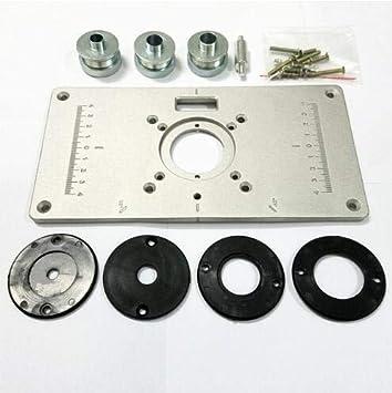 TQ 1 unid/Set Nueva 700C Placa de Aluminio 4 Unids Insertar ...