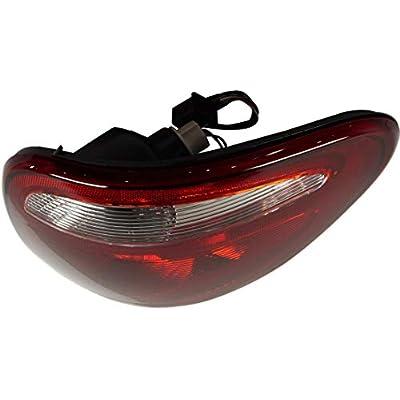 Tail Light Assembly Compatible with 2004-2007 Dodge Grand Caravan Passenger Side: Automotive