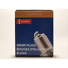 4 PCS *NEW* -- DENSO #3130 -- U-GROOVE - Standard Spark Plugs -- K16PR-U11