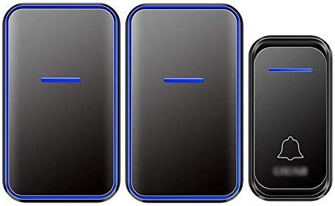 [해외]Wireless Doorbell Waterproof Doorbell,Barrier-Free 300m Penetration, 38 Bells Optional 4 Levels Volume,Anti-Interference 2 / Wireless Doorbell, Waterproof Doorbell,Barrier-Free 300m Penetration, 38 Bells Optional, 4 Levels Vol...