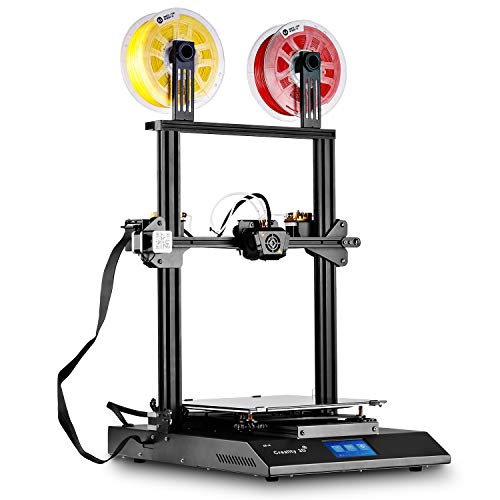 Creality CR X 3D Printer Dual Extrusion Color Semi-Assembled Integrated 3D Printer, Massive Print Size 300 x 300 x 400mm(11.8″ x 11.8″ x 15.8″, 2nd Version)