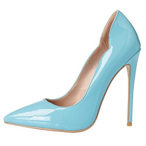 01 ZAPROMA Escarpins Femme ARC Bleu 5 39 Bleu Clair rRwPR5EnqS
