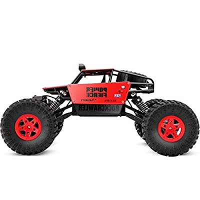 Putars 1:14 High Speed Remote Control RC Rock Crawler Racing Car Off Road Truck 2.4Ghz( Built-In 900mAh High-Capacity NiCd Provides Up to 15-18 Minutes' Driving)