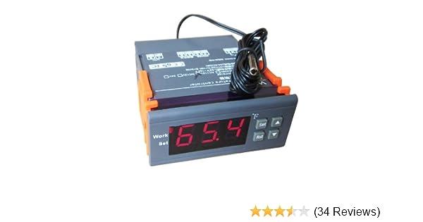 Amazon.com: AC 110~120V Digital Temperature Controller Thermostat F: Garden & Outdoor