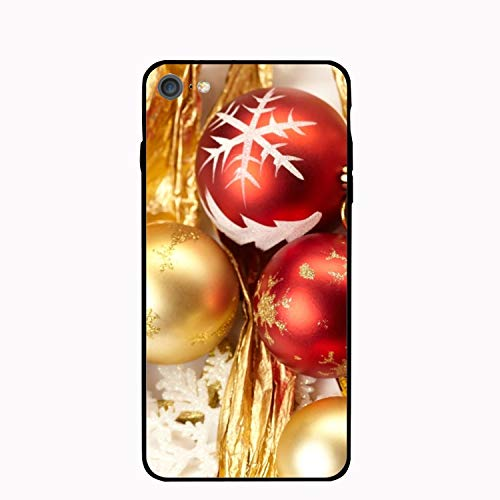 Personalized Holiday Christmas Ornaments PC Cellphone case for iPhone 7/8 - Bicycle Ornament Holiday