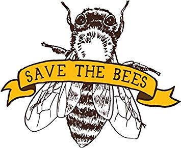 MR3Graphics Magnet Save The Bees Magnetic Car Sticker Decal Bumper Magnet Vinyl 5