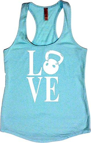 Orange Arrow Womens Workout Clothing (L, Cancun) - Kettlebell Love - Zumba Tank Top