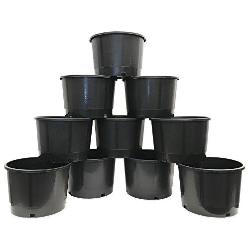 Viagrow VHG500-10 Heavy Duty Nursery 5 Gal/Pot-10pk