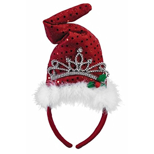 Forum Novelties 77572 Christmas Headbands (Christmas Tiara), One Size, Pack of -