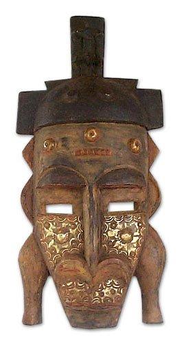 NOVICA Máscara de Madera, Detener el no deseado: Amazon.es ...
