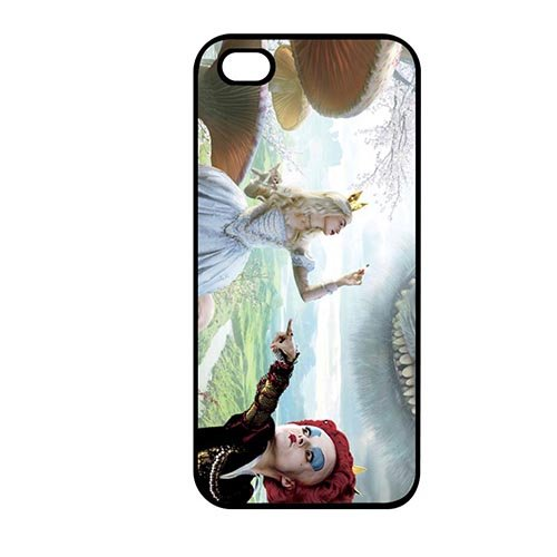 Coque,Phone Protection Case Covers Girly Coque iphone SE & Coque iphone 5 & Coque iphone 5S Proof Dust Casing(Alice in Wonderland Movie)