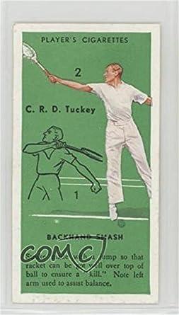 3e2a0fef7790a Amazon.com: C.R.D. Tuckey (Trading Card) 1936 Player's Cigarettes ...