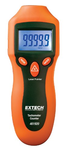 Mini Laser Tool (Extech 461920 Mini Laser Photo Tachometer Counter)