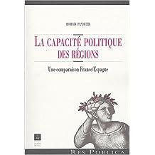 CAPACITE POLITIQUE DES REGIONS