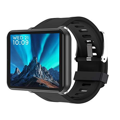 WQYRLJ Smart Watch Android 7.1 1GB+16GB 2.86Inch Support 4G SIM Card GPS Wifi 2700Mah Big Battery Smartwatch Men,Black 1…