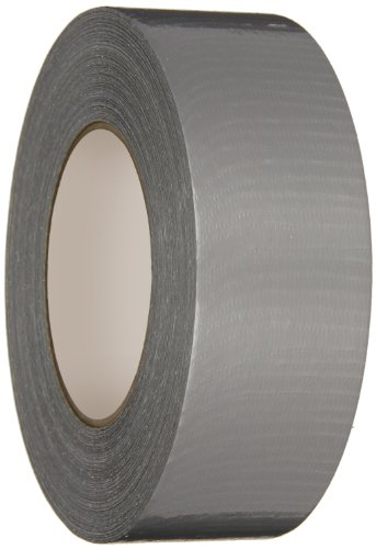 Nashua Polyethylene Coated Cloth Utility Grade Duct Tape, 8 mil Thick, 55 m Length, 48 mm Width, Silver - Polyethylene Coated Cloth Duct Tape