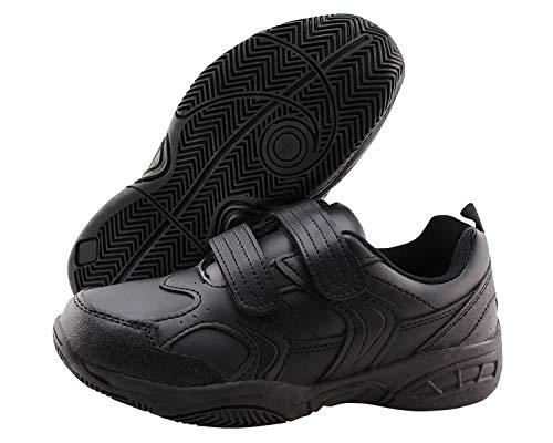 Jabasic Boys Girls Hook Loop Sport School Shoes Kids Comfortable Sneakers - Tennis Boys Childrens Shoes