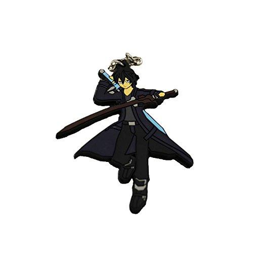 Sword Art Online Anime Kirito - Llavero de doble cara ...
