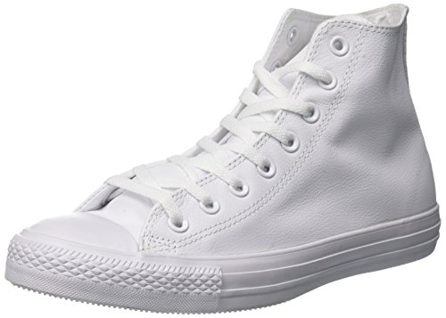 Converse Mens Unisex Chuck Taylor All Star Leather Hi Fashion (Chuck Taylor Hi Shoe)